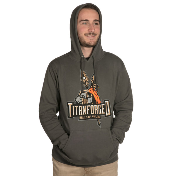 View 1 of World of Warcraft Legion Titanforged Pullover Hoodie photo. primary photo.