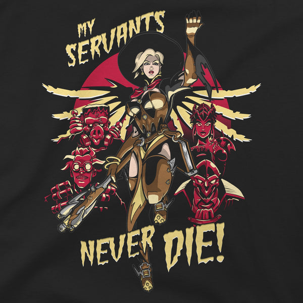 Overwatch Mercy Witch Premium Tee alternate photo.