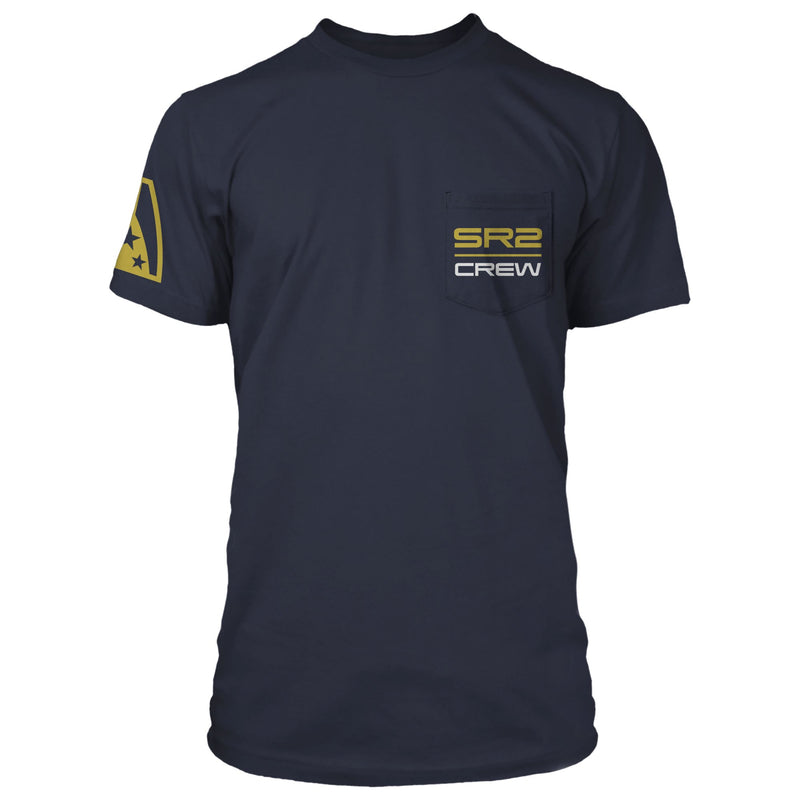 Mass Effect Normandy Crew Pocket Tee