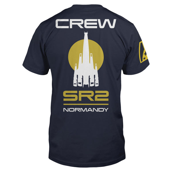 Mass Effect Normandy Crew Pocket Tee primary photo.
