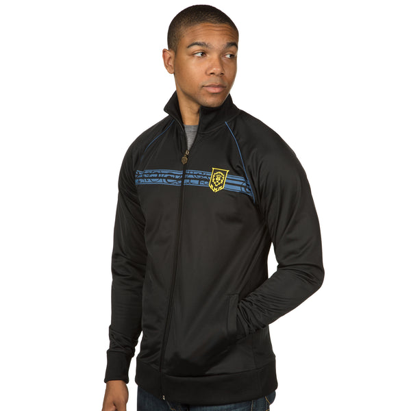 View 2 of World of Warcraft Alliance Track Jacket photo. alternate photo.