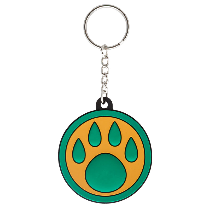 View 1 of World of Warcraft Monk Paw Logo Keychain photo.