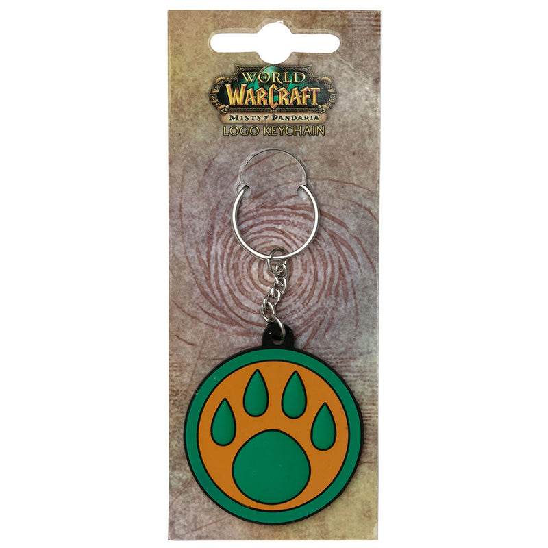 View 2 of World of Warcraft Monk Paw Logo Keychain photo.
