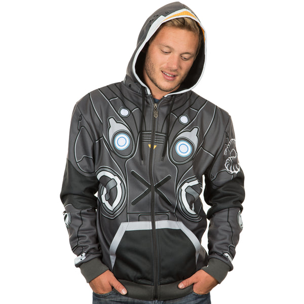 View 2 of StarCraft Raynor Premium Zip-up Hoodie photo. alternate photo.