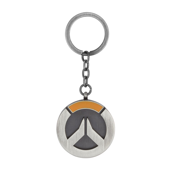 View 1 of Overwatch Logo Keychain photo. primary photo.