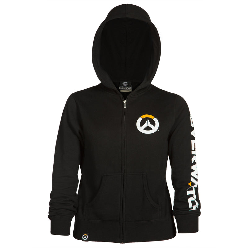 View 2 of Overwatch Logo Women's Zip-Up Hoodie photo.