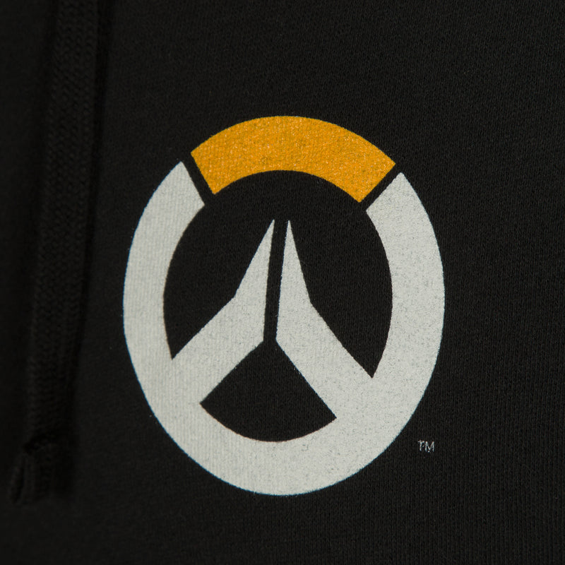View 3 of Overwatch Logo Women's Zip-Up Hoodie photo.