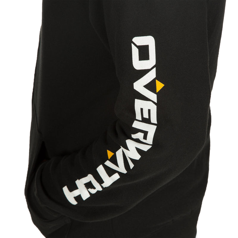 View 4 of Overwatch Logo Women's Zip-Up Hoodie photo.