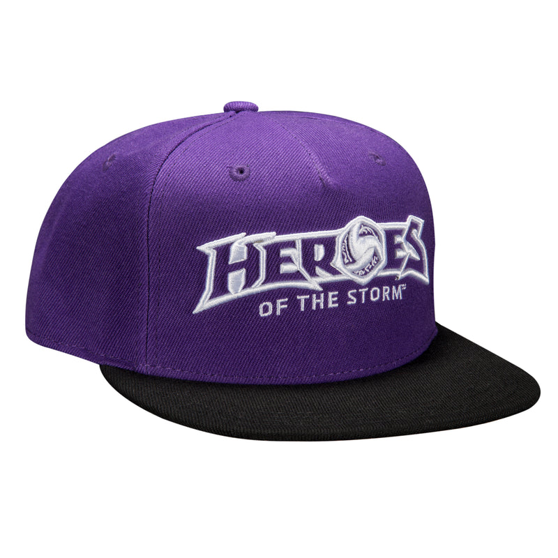 View 1 of Heroes of the Storm Strike Team Premium Snap Back Hat photo.