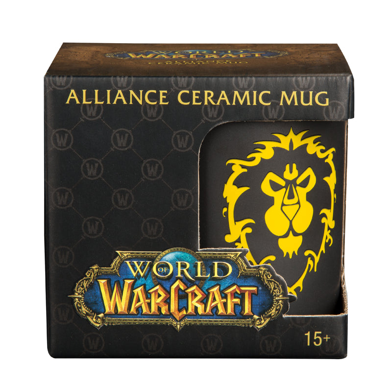 View 3 of World of Warcraft Alliance Logo Mug photo.