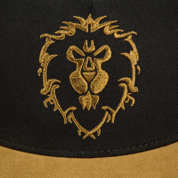 View 2 of World of Warcraft Legendary Alliance Premium Snap Back Hat photo. alternate photo.