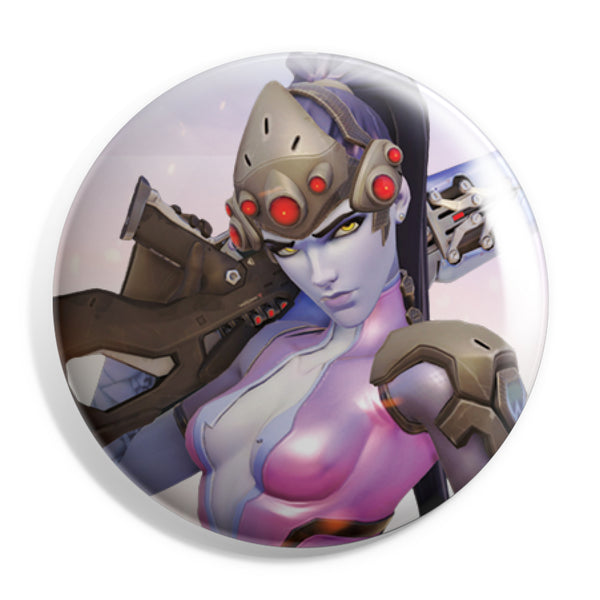 View 1 of Overwatch Widowmaker Button photo. primary photo.