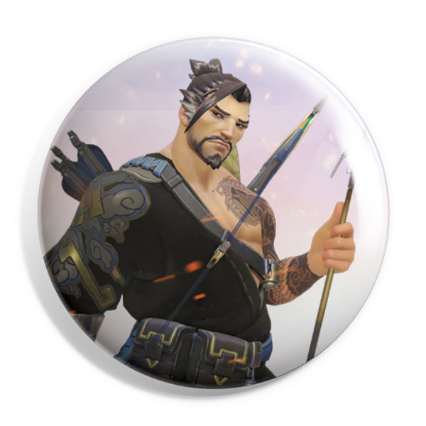 View 1 of Overwatch Hanzo Button photo. primary photo.