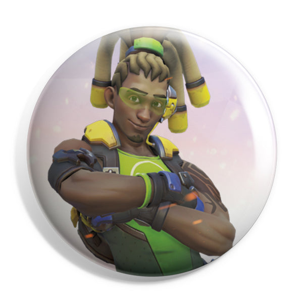View 1 of Overwatch Lucio Button photo. primary photo.
