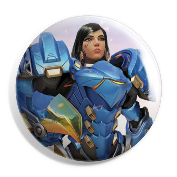 View 1 of Overwatch Pharah Button photo. primary photo.