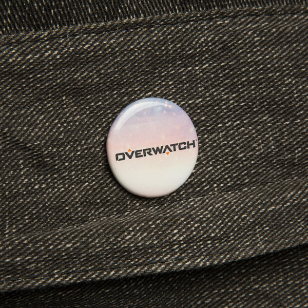View 2 of Overwatch Logo Button photo. alternate photo.