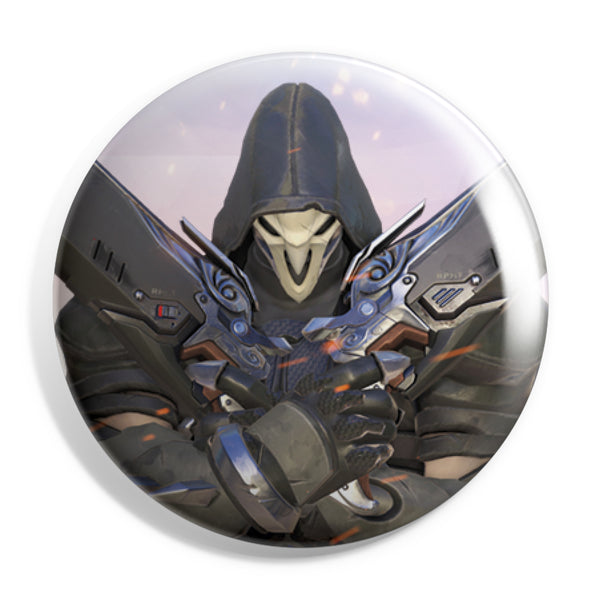 View 1 of Overwatch Reaper Button photo. primary photo.