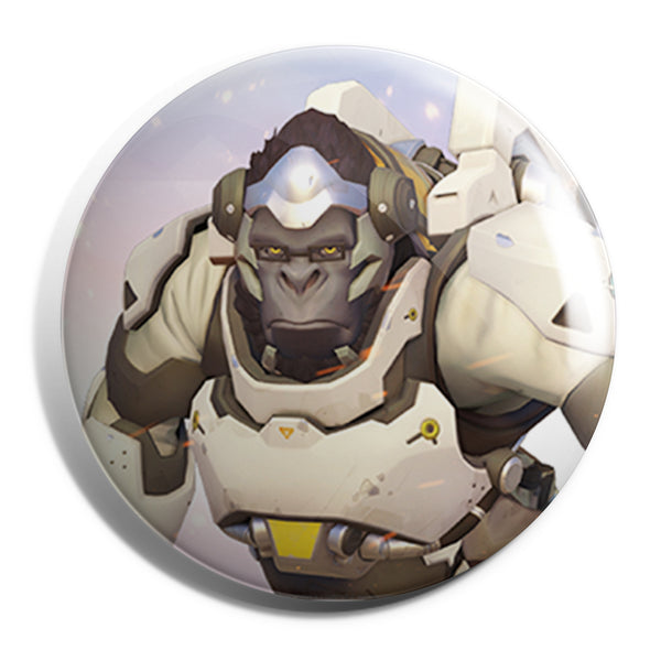 View 1 of Overwatch Winston Button photo. primary photo.