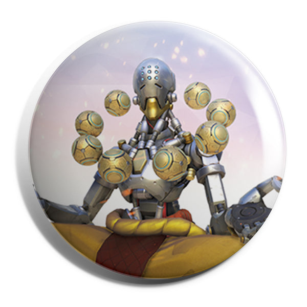 View 1 of Overwatch Zenyatta Button photo. primary photo.