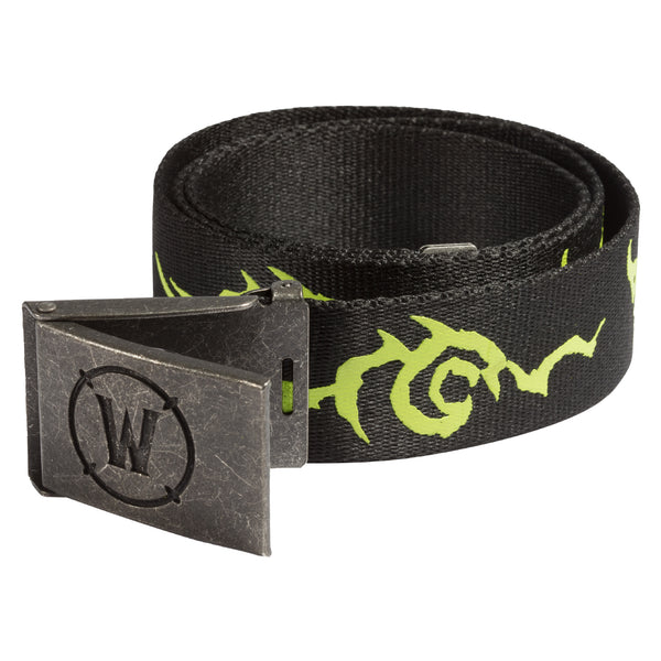 View 1 of World of Warcraft Legion Logo Belt photo. primary photo.