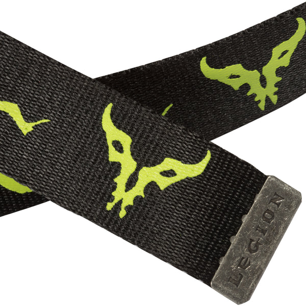 View 2 of World of Warcraft Legion Logo Belt photo. alternate photo.