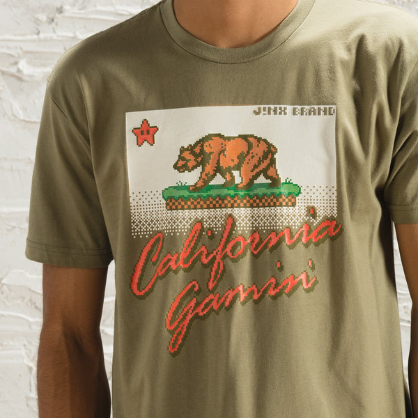 View 2 of J!NX California Gamin Premium Tee photo. alternate photo.