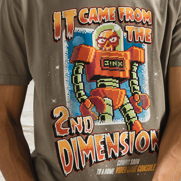 View 2 of J!NX Second Dimension Premium Tee photo. alternate photo.