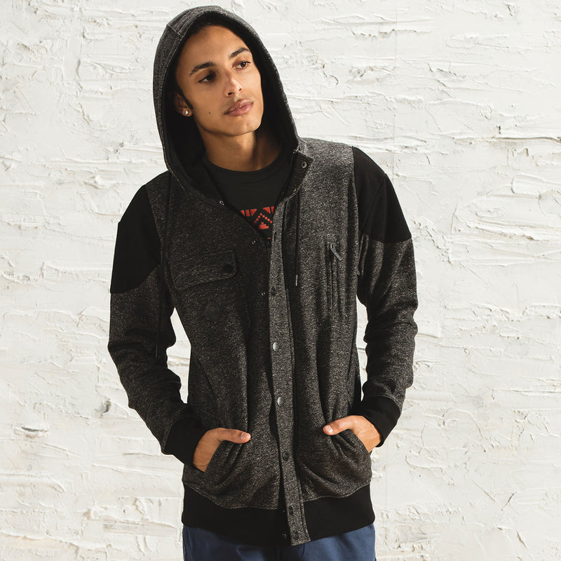 View 1 of J!NX Stormlord Premium Zip-Up Hoodie photo.