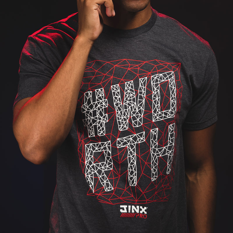 View 2 of J!NX Pro #Worth Premium Tee photo.