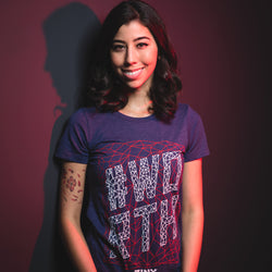 View 1 of J!NX Pro #Worth Women's Tee photo.