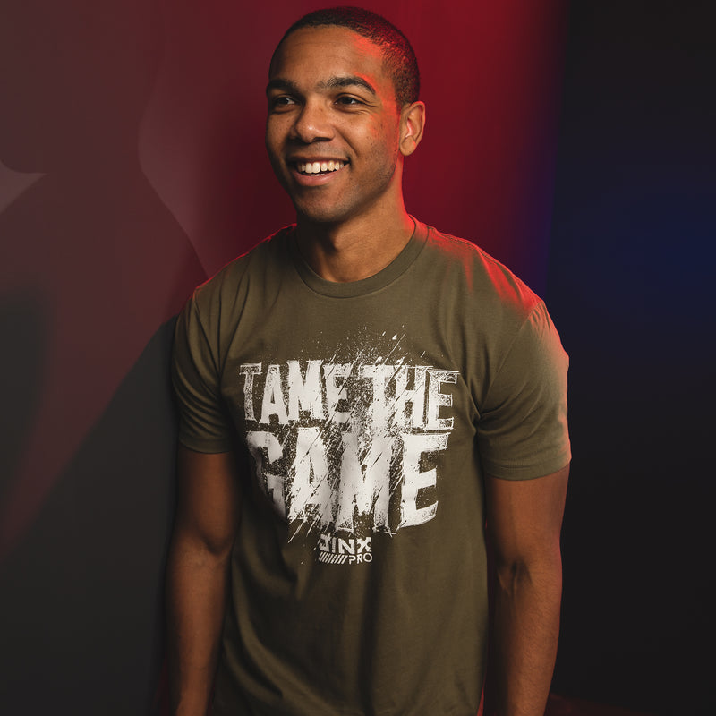 View 1 of J!NX Pro Tame The Game Premium Tee photo.