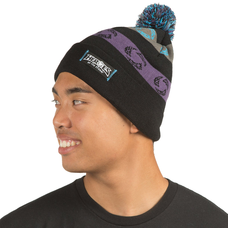 View 3 of Heroes of the Storm Winmore Pom Beanie photo.