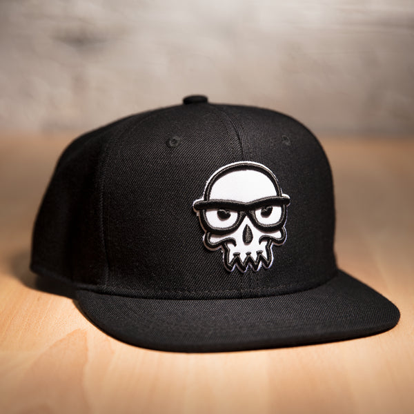 View 1 of J!NX Legacy Skull Premium Snap Back Hat photo. primary photo.