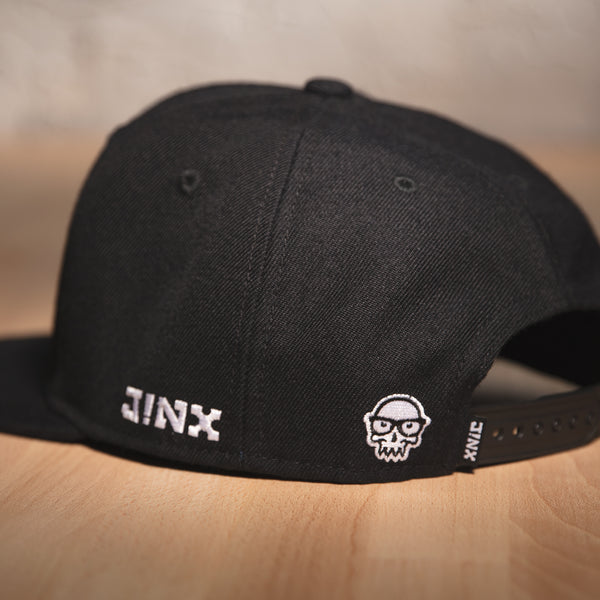 View 2 of J!NX Legacy Skull Premium Snap Back Hat photo. alternate photo.