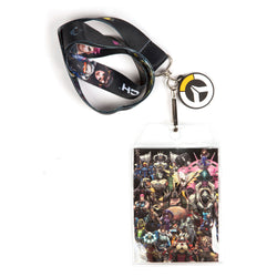 View 1 of Overwatch Super Team Lanyard photo.