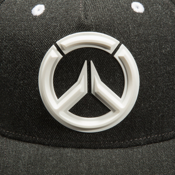 View 2 of Overwatch Sonic Snap Back Hat photo. alternate photo.