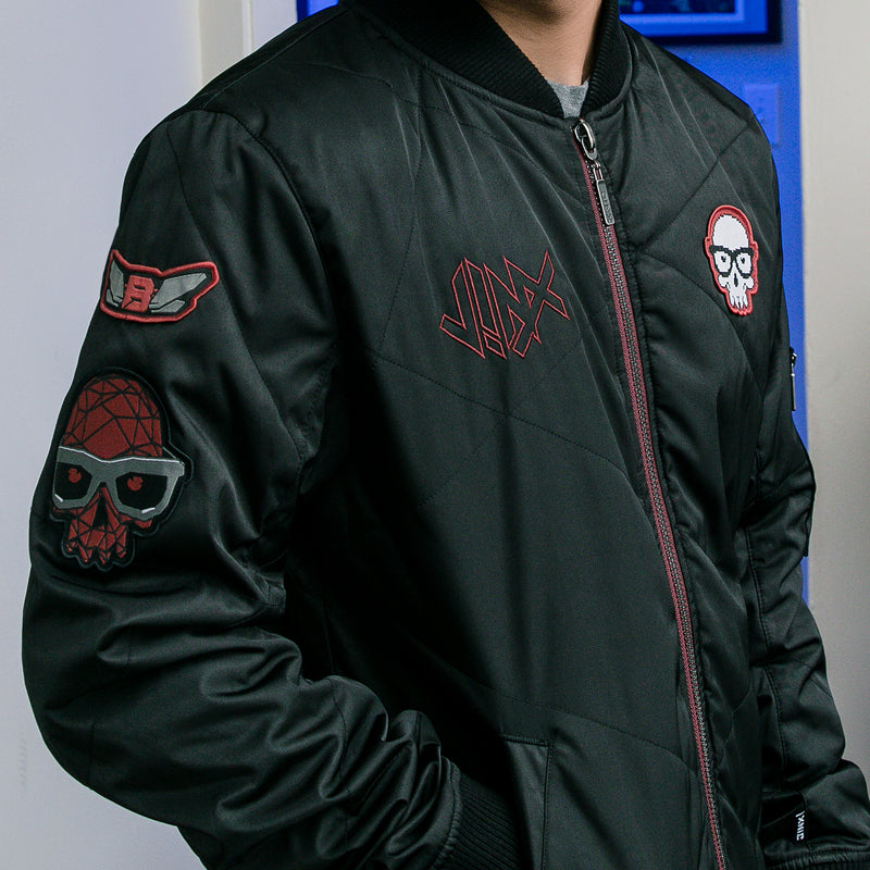 View 3 of J!NX Men's Bomber Jacket photo.
