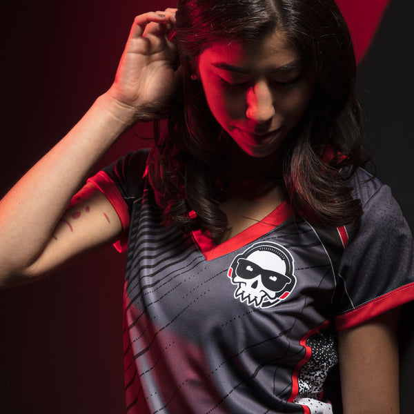 View 2 of J!NX Pro Pixelated Women's Jersey photo. alternate photo.