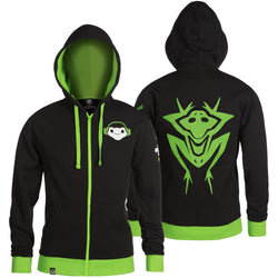View 1 of Overwatch Ultimate Lucio Zip-Up Hoodie photo.