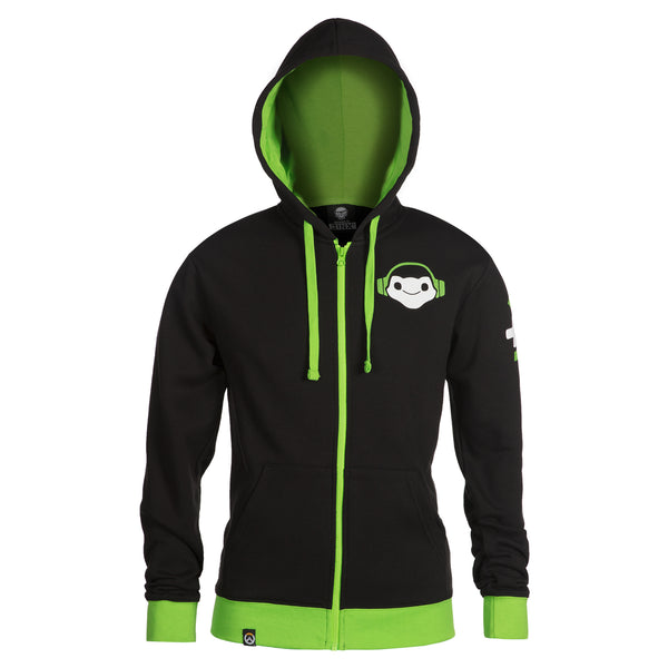 View 2 of Overwatch Ultimate Lucio Zip-Up Hoodie photo. alternate photo.