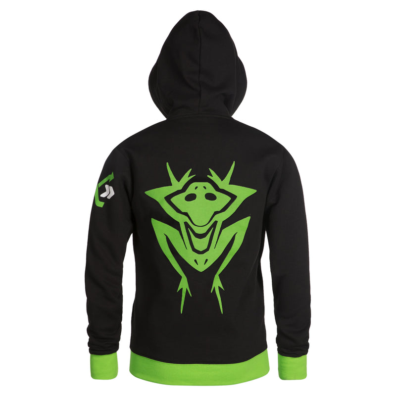 View 3 of Overwatch Ultimate Lucio Zip-Up Hoodie photo.
