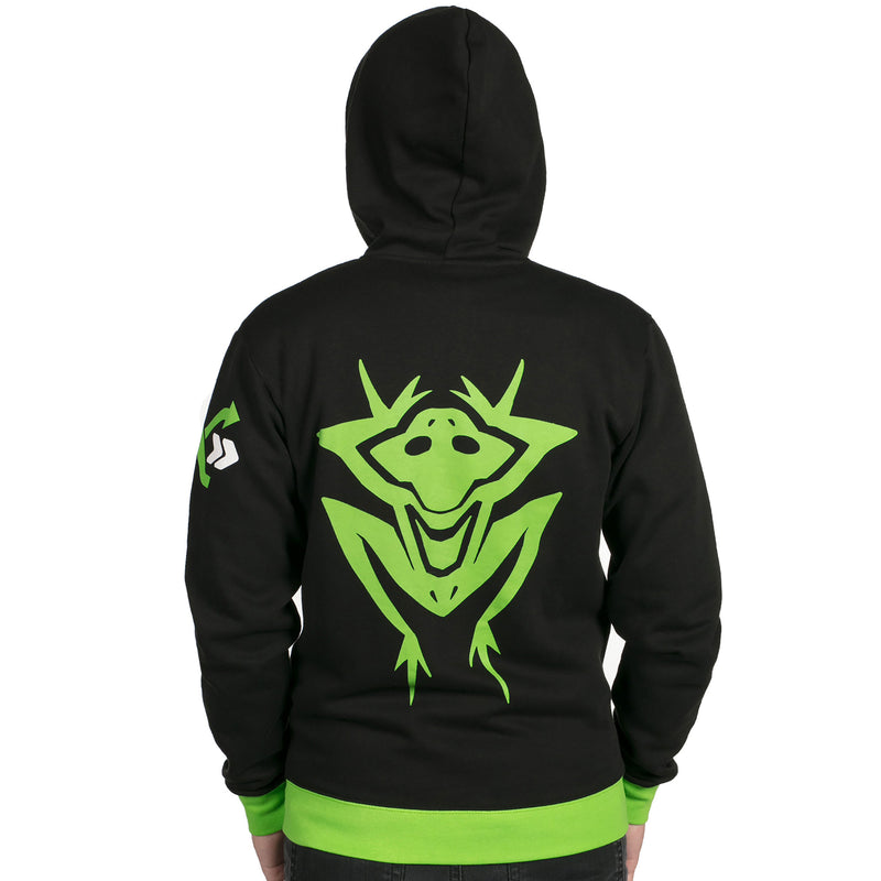 View 5 of Overwatch Ultimate Lucio Zip-Up Hoodie photo.