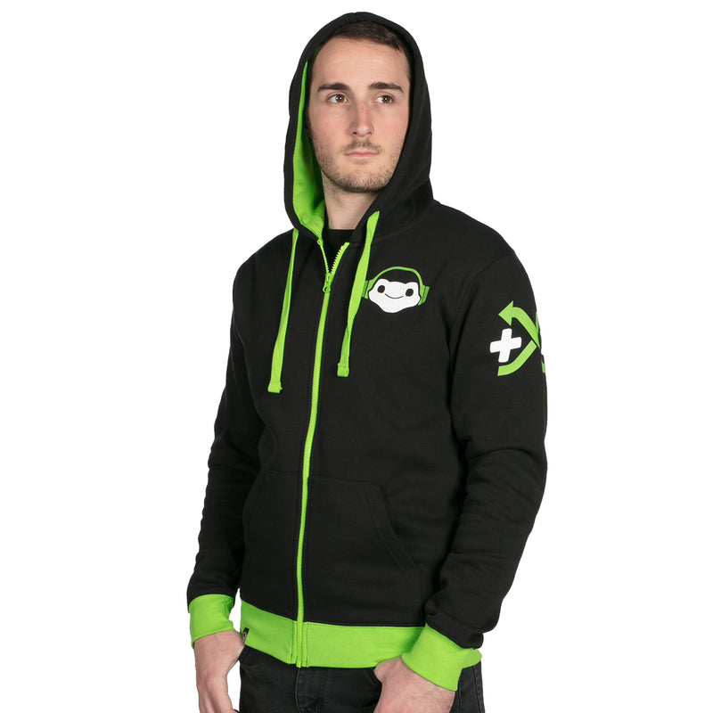 View 6 of Overwatch Ultimate Lucio Zip-Up Hoodie photo.