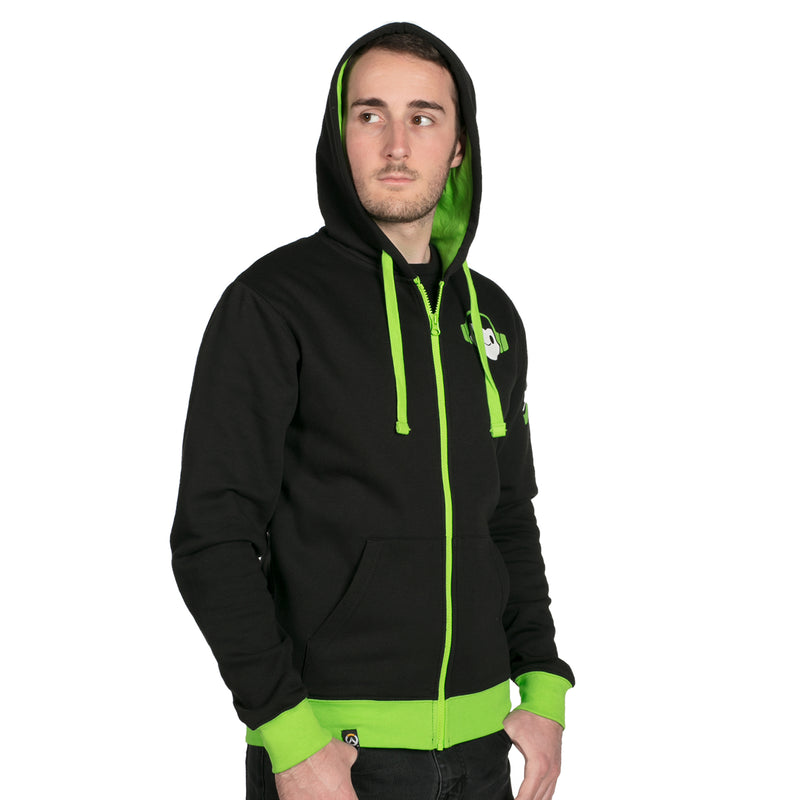 View 7 of Overwatch Ultimate Lucio Zip-Up Hoodie photo.