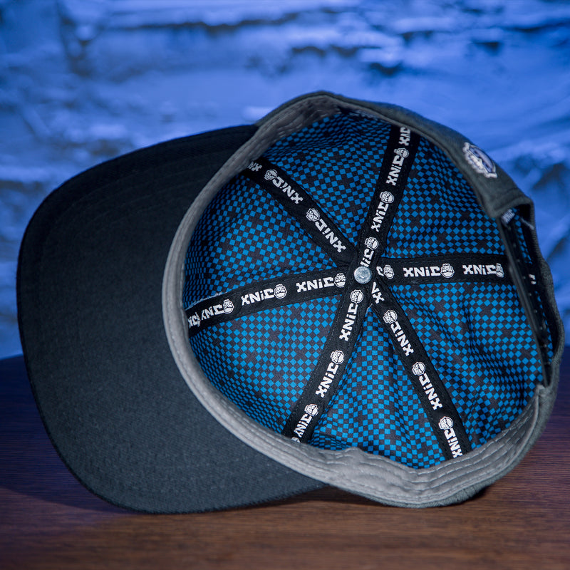 View 3 of J!NX Distortion Snap Back Hat photo.
