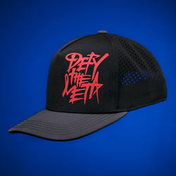 View 1 of J!NX Pro Defy The Meta 6 Panel Snap Back Hat photo.