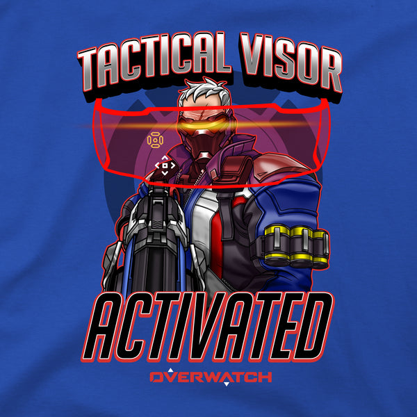 View 2 of Overwatch Tactical Visor Premium Tee photo. alternate photo.