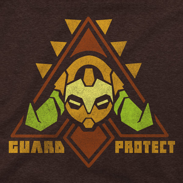 View 2 of Overwatch To Guard and Protect Women's Tee photo. alternate photo.