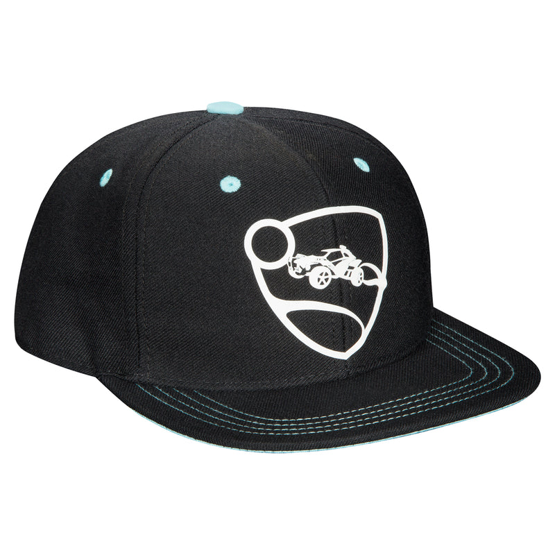 View 1 of Rocket League Blue Team Snap Back Hat photo.