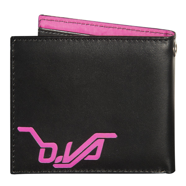 View 2 of Overwatch D.Va Bi-fold Graphic Wallet photo. alternate photo.